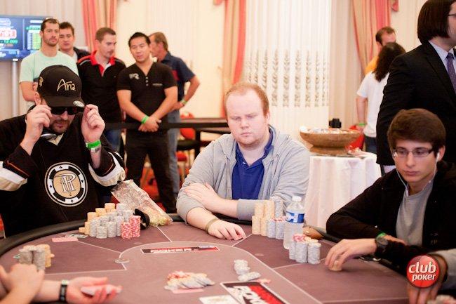 Photo de Paul-François lors du Main Event des WSOP-E 2012, crédit photo by ClubPoker